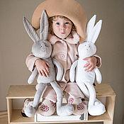 Куклы и игрушки ручной работы. Ярмарка Мастеров - ручная работа Заяц Фицжеральд. Handmade.