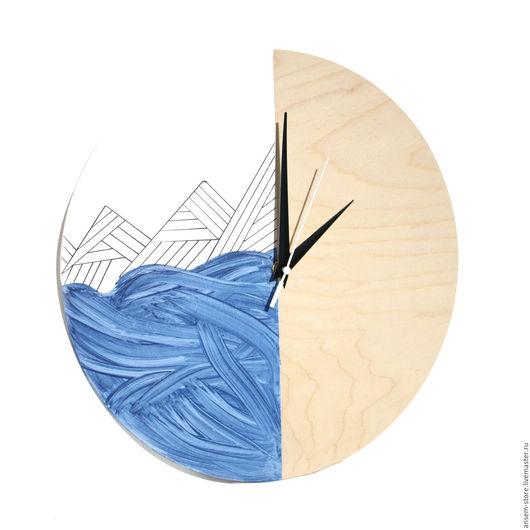 Часы для дома ручной работы. Ярмарка Мастеров - ручная работа. Купить Часы настенные из дерева Сиггу. Часы ручной работы. Handmade.