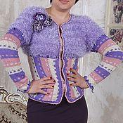 Одежда handmade. Livemaster - original item knitted blouse