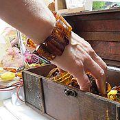 Украшения ручной работы. Ярмарка Мастеров - ручная работа Янтарный браслет для Ольги.. Handmade.