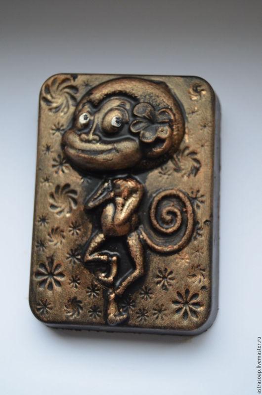 обезьянка символ нового года подарок подружке новогодние подарки и сувениры обезьянка купить мыло ручной работы