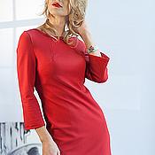 Одежда ручной работы. Ярмарка Мастеров - ручная работа Платье  PARIS red. Handmade.