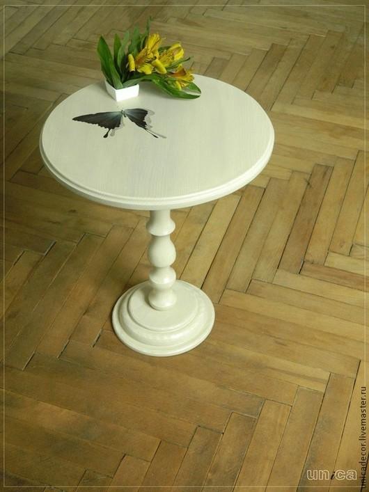 """Мебель ручной работы. Ярмарка Мастеров - ручная работа. Купить Кофейный столик """"Бабочка"""". Handmade. Бежевый, кофейный столик, стол"""