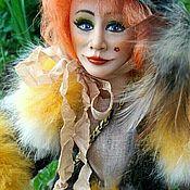 Куклы и игрушки ручной работы. Ярмарка Мастеров - ручная работа Лиса-Алиса кукла с портретным сходством. Handmade.