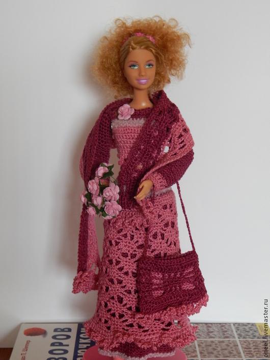 Одежда для кукол ручной работы. Ярмарка Мастеров - ручная работа. Купить костюм для Барби, Лив, Момоко. Handmade. Кукольная одежда