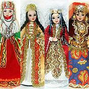 Куклы и игрушки ручной работы. Ярмарка Мастеров - ручная работа Армянка, Осетинка, Грузинка, Азербайджанка-куклы в кавказских костюмах. Handmade.