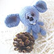 Мягкие игрушки ручной работы. Ярмарка Мастеров - ручная работа Игрушка вязаная мышка. амигуруми, игрушки ручной работы, детям. Handmade.