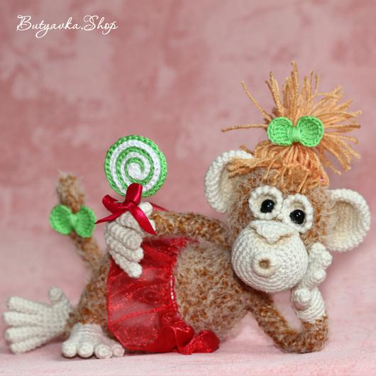 Обезьянка Анфиска (оригинальный подарок игрушка, символ 2016 года)