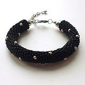 """Bead bracelet handmade. Livemaster - original item Браслет """"Заклепки"""". Handmade."""