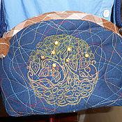 Сумки и аксессуары ручной работы. Ярмарка Мастеров - ручная работа Маленькая сумочка с вышивкой. Handmade.