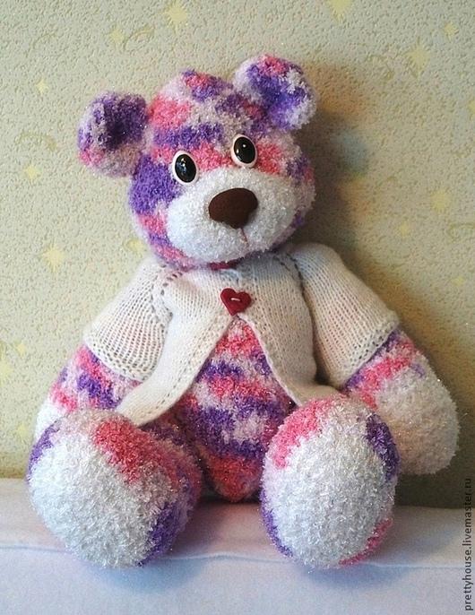 Игрушки животные, ручной работы. Ярмарка Мастеров - ручная работа. Купить Вязаная игрушка медведь Большой Мих.. Handmade. Мишка