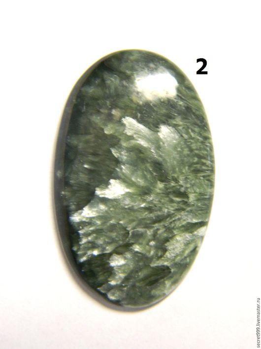 Для украшений ручной работы. Заказать кабошон серафинит кабошон клинохлор кабошон натуральный зеленый камень. Кабошон со всех сторон. Ярмарка Мастеров.