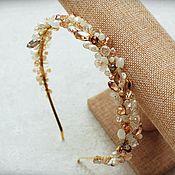 Свадебный салон handmade. Livemaster - original item Wedding band of beads