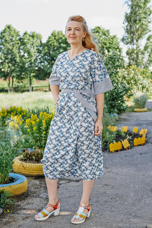 Cotton robe, women's robe bird of Paradise, Robes, Kursk,  Фото №1