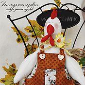 Подарки к праздникам ручной работы. Ярмарка Мастеров - ручная работа Петушок в стиле кантри. Handmade.