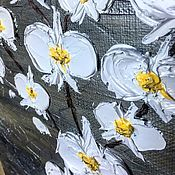 """Картины ручной работы. Ярмарка Мастеров - ручная работа Картина маслом, мастихиновая живопись """"Орхидея"""". Handmade."""