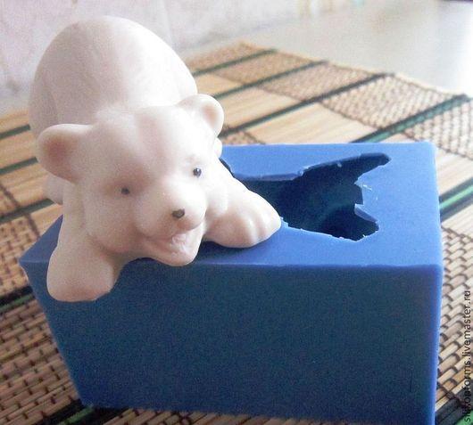 Материалы для косметики ручной работы. Ярмарка Мастеров - ручная работа. Купить медвежонок (форма силиконовая). Handmade. Медведь, силиконовая форма