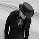 """Шляпы ручной работы. Эксклюзивная шляпа """"Mysterieuse"""" (Таинственная). Наталья Прокофьева (la-magie-spb). Ярмарка Мастеров. Загадка"""