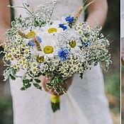 """Цветы и флористика ручной работы. Ярмарка Мастеров - ручная работа Букет невесты """"Ромашковое настроение"""". Handmade."""