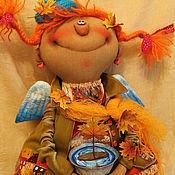 Куклы и игрушки ручной работы. Ярмарка Мастеров - ручная работа Шалунья-Осень!.... Handmade.