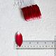 Лепестки бело-красные мелкие My Thai материалы для малбери флористики из Таиланда