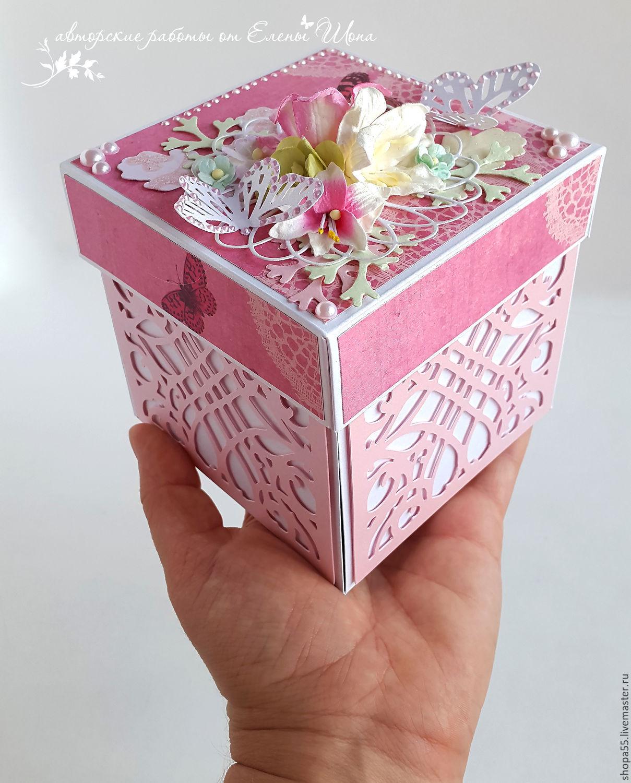Коробочка с деньгами в подарок 233