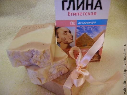 """Мыло ручной работы. Ярмарка Мастеров - ручная работа. Купить Мыло с нуля """"Розовая прелесть"""" с козьим молочком и розовой глиной.. Handmade."""