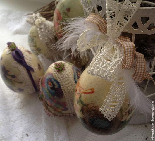 Подарки на Пасху ручной работы. Ярмарка Мастеров - ручная работа. Купить Пасхальные яйца разные.. Handmade. Пасха, яйцо пасхальное