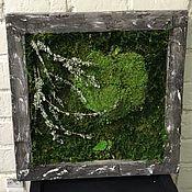 Картины и панно ручной работы. Ярмарка Мастеров - ручная работа Экокартина в стиле Лофт №2. Handmade.