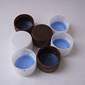 Материалы для творчества handmade. Livemaster - original item Cap 28 mm for PET bottles with CFW. Handmade.