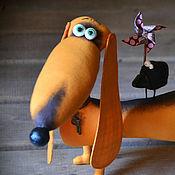 Куклы и игрушки ручной работы. Ярмарка Мастеров - ручная работа Зеленоглазое ТАКСи. Handmade.
