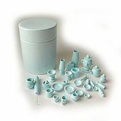 Куклы и игрушки handmade. Livemaster - original item Set of dinnerware (pawns) 27 items in the barrel 1. Handmade.