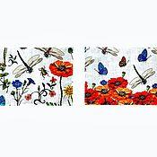 Картины и панно handmade. Livemaster - original item Pictures: Summer diptych. Handmade.