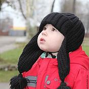 Работы для детей, handmade. Livemaster - original item Set knitted Malchish-Kibalchish, knitted hat, scarf and mittens.. Handmade.