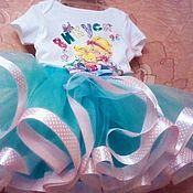 Одежда ручной работы. Ярмарка Мастеров - ручная работа Комплект для маленькой принцессы. Handmade.