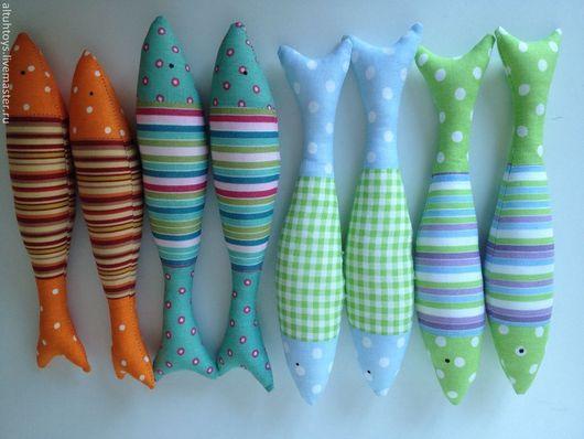 Игрушки животные, ручной работы. Ярмарка Мастеров - ручная работа. Купить Рыба-рыба-рыба-рыба!. Handmade. Рыба, море