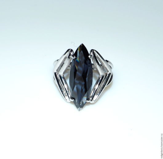 """Кольца ручной работы. Ярмарка Мастеров - ручная работа. Купить Кольцо """"Эклектика"""" серебро 925 пробы. Handmade. Кольцо с камнем"""