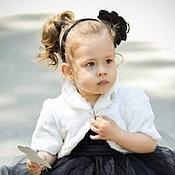 """Работы для детей, ручной работы. Ярмарка Мастеров - ручная работа Болеро меховое для девочки  """"Зайчонок"""". Handmade."""