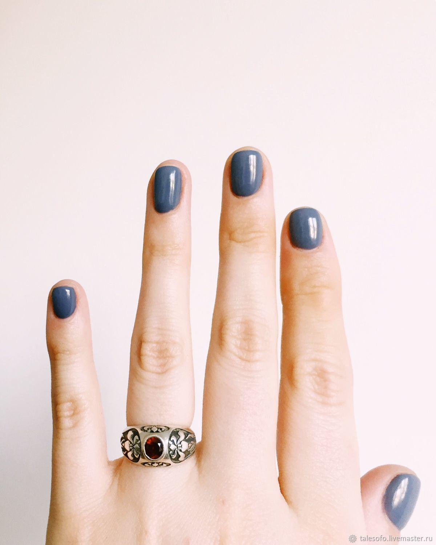 Кольца ручной работы. Ярмарка Мастеров - ручная работа. Купить Кольцо Викторианский Ирис. Handmade. Ирисы, серебряное кольцо