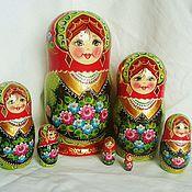 Русский стиль handmade. Livemaster - original item matreshka 7 places . Spring! hand painted .. Handmade.