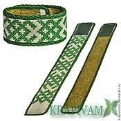 Украшения handmade. Livemaster - original item Bracelet nettle with Slavic symbols.. Handmade.