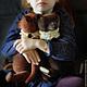 Мишки Тедди ручной работы. Брэд. Юлия Валеева (Julia Valeeva). Ярмарка Мастеров. Антик, шоколадный, горький шоколад
