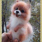 Куклы и игрушки handmade. Livemaster - original item Toys: Spitz wool. Handmade.