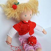 Куклы и игрушки ручной работы. Ярмарка Мастеров - ручная работа Вальдорфская кукла Вишенка. Handmade.