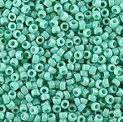 Материалы для творчества ручной работы. Ярмарка Мастеров - ручная работа 8/0 TOHO Opaque Turquoise (55) 10 гр. Handmade.