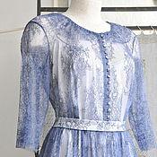 Одежда ручной работы. Ярмарка Мастеров - ручная работа Платье из кружева шантильи. Handmade.