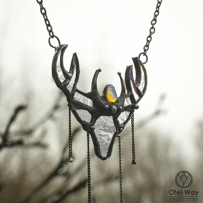 Pendant Spirit of the Forest reindeer (p-006-06), Pendants, St. Petersburg,  Фото №1