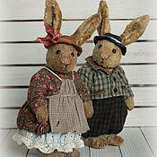 Куклы и игрушки ручной работы. Ярмарка Мастеров - ручная работа Хлоя и Лука, пара, 15 см. Handmade.