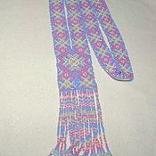 Украшения handmade. Livemaster - original item Germany: Gerdan Slavic patterns lilac. Handmade.