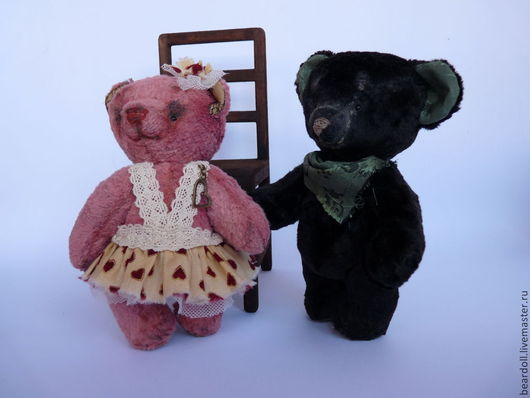 Мишки Тедди ручной работы. Ярмарка Мастеров - ручная работа. Купить Милашка МИЛЛИ, мишка тедди. Handmade. Розовый, подарок